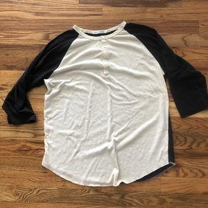 Alternative apparel baseball tee